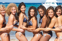 Dallas Cowboys Cheerleaders Calendar Shoot - Team Scuba
